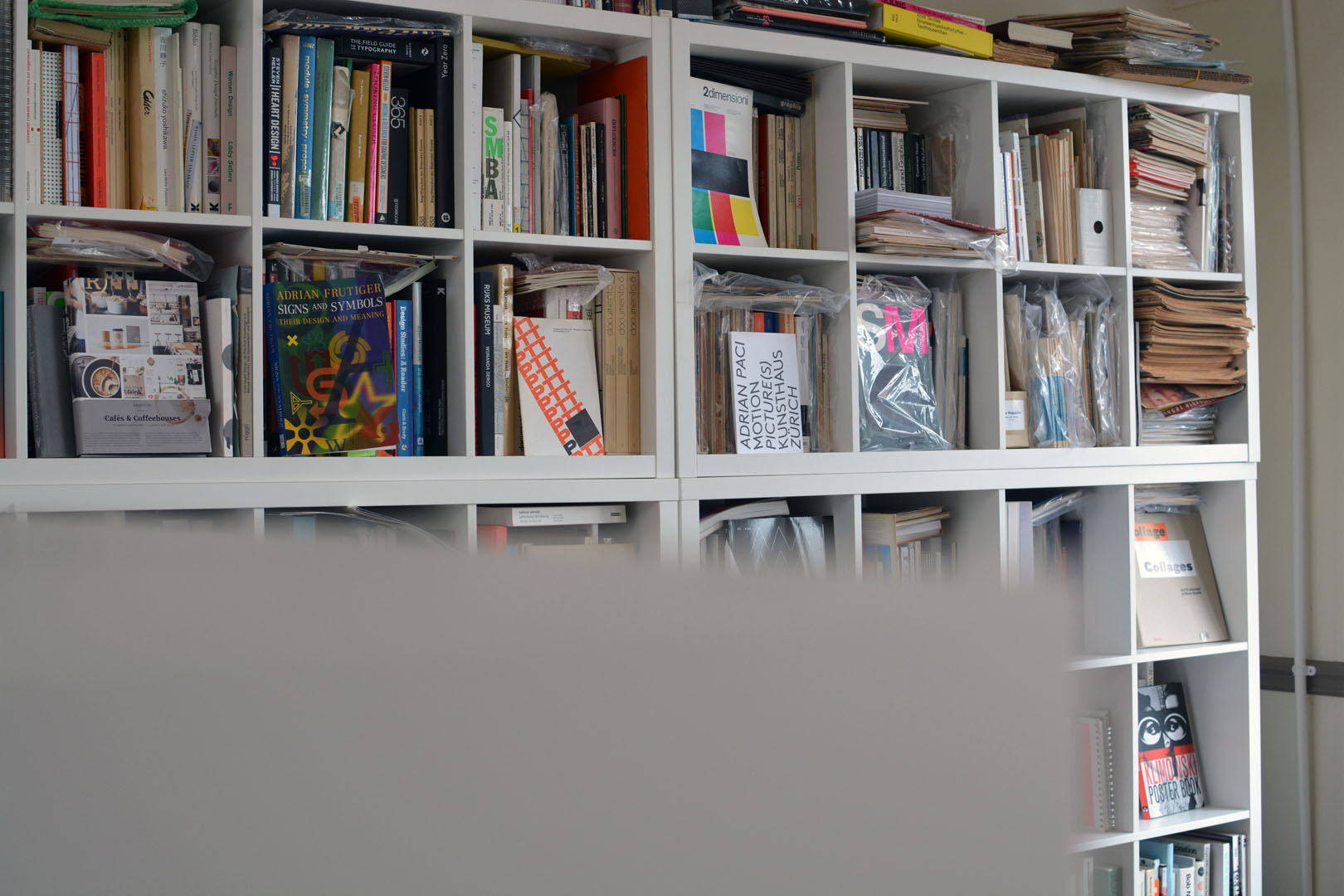 Graphic design book archive at Assembly Bradford