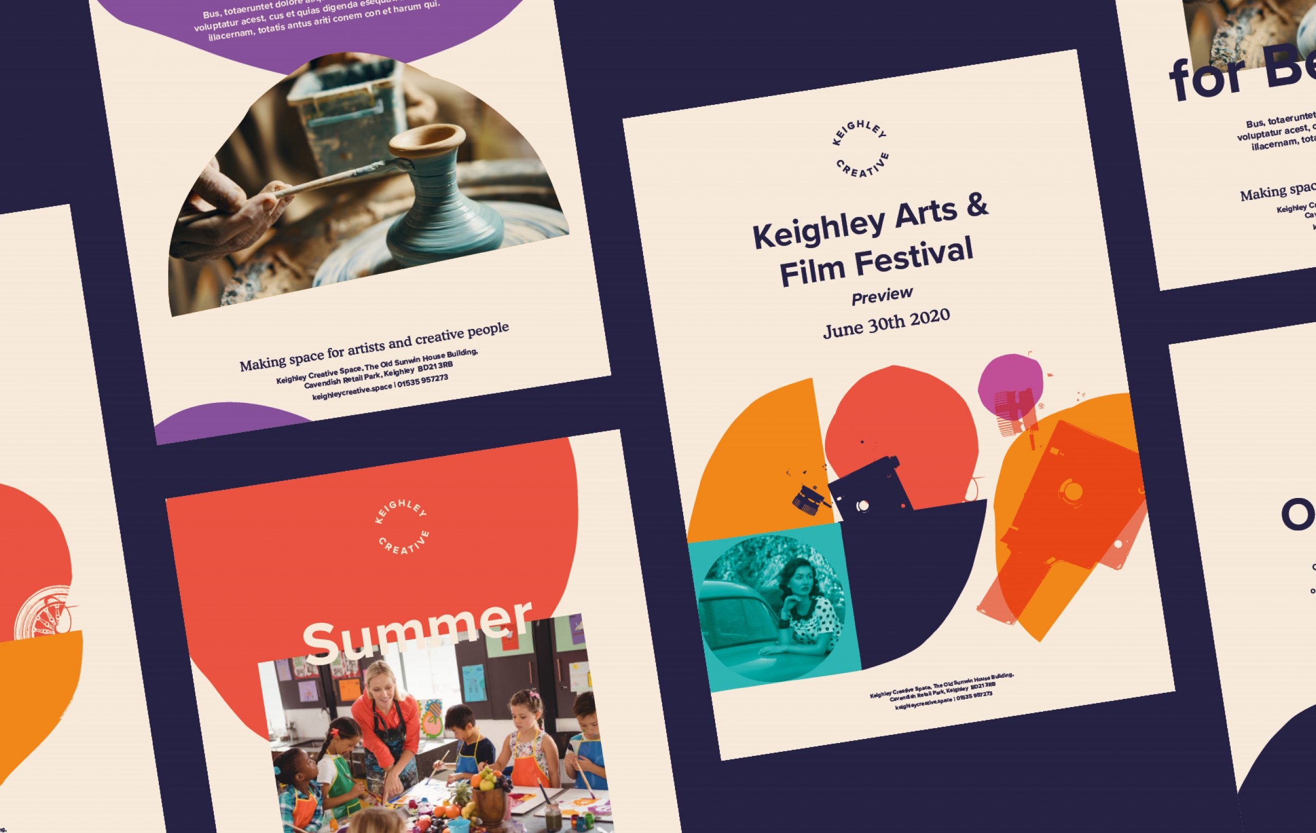 Keighley Creative - Poster Designs