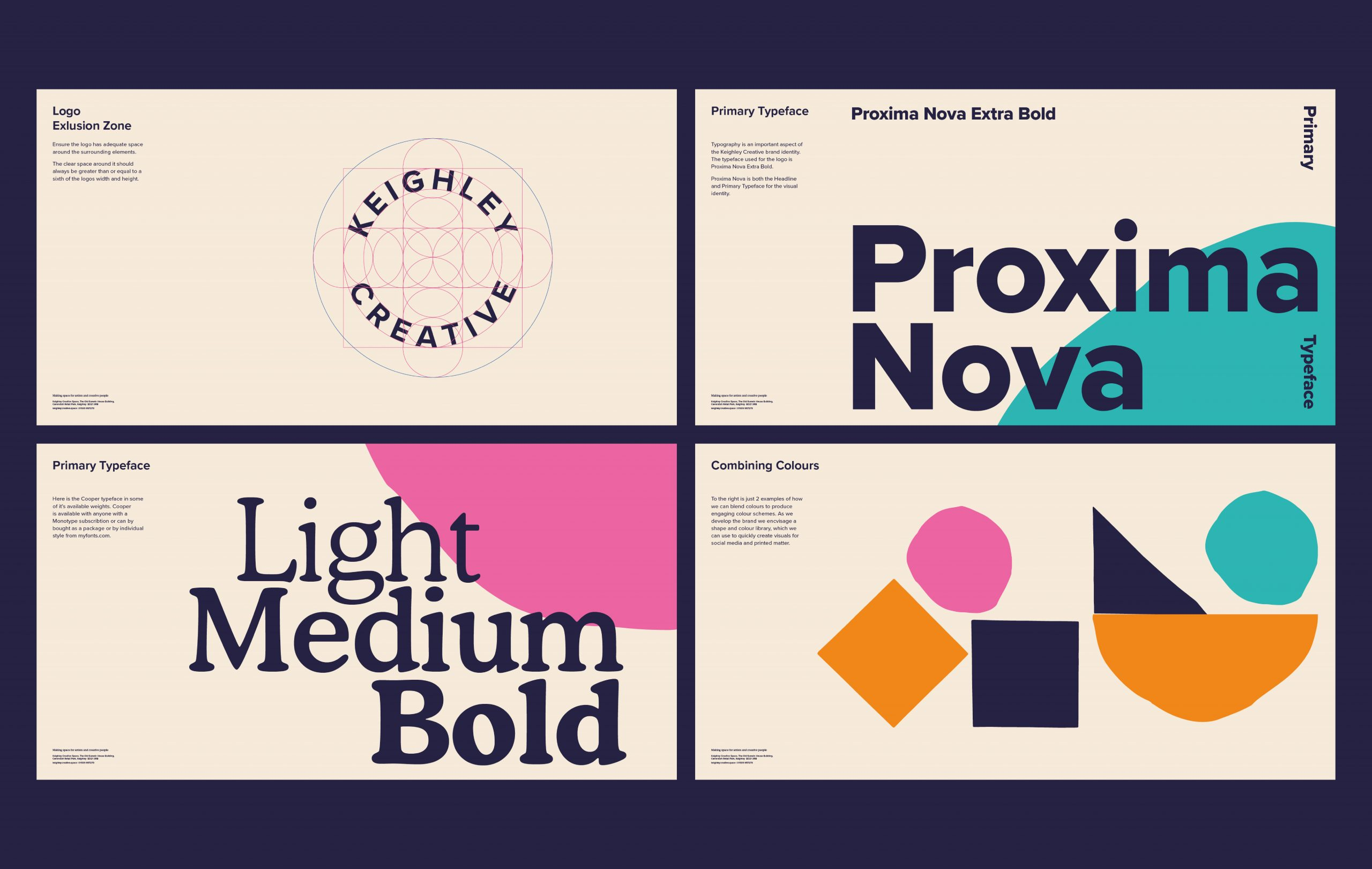 Keighley Creative brand guidelines design