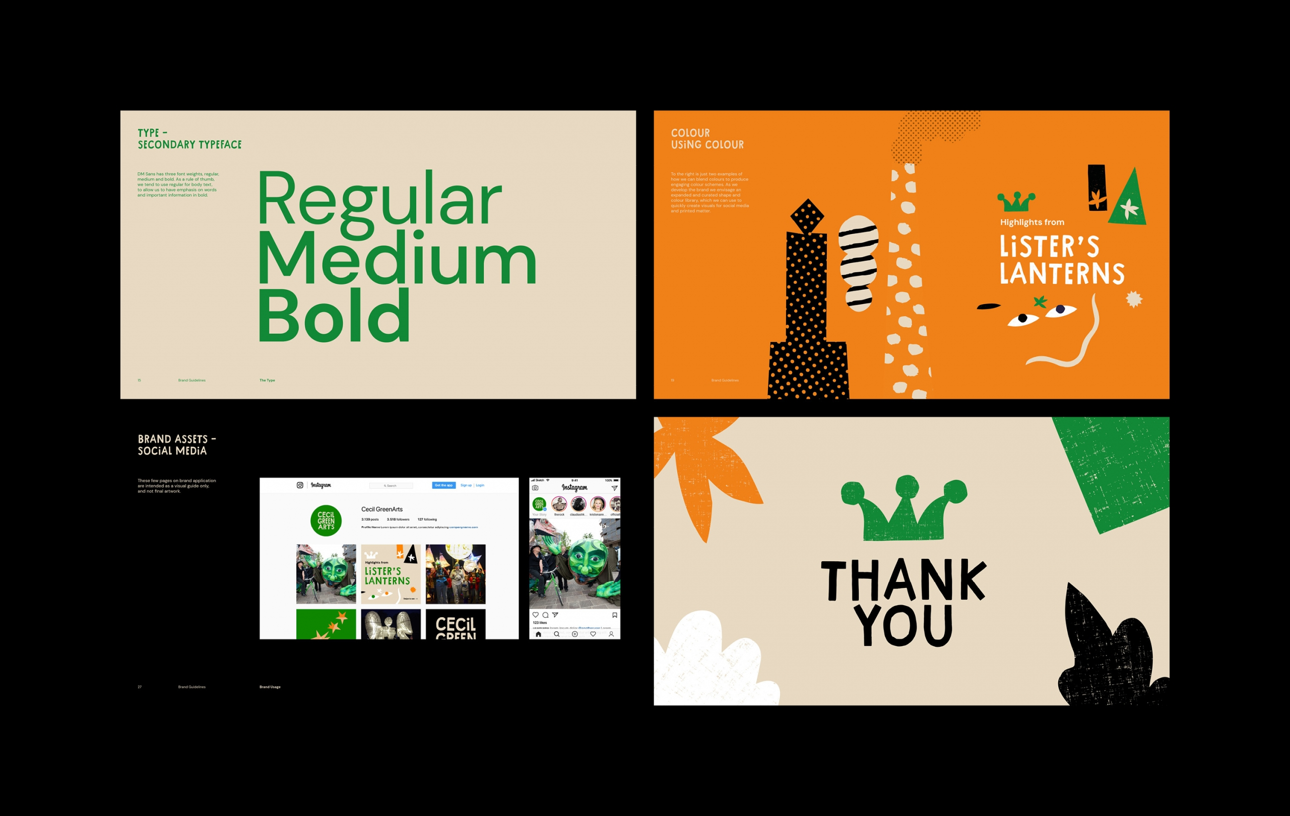 Cecil Green Arts Brand Guidelines