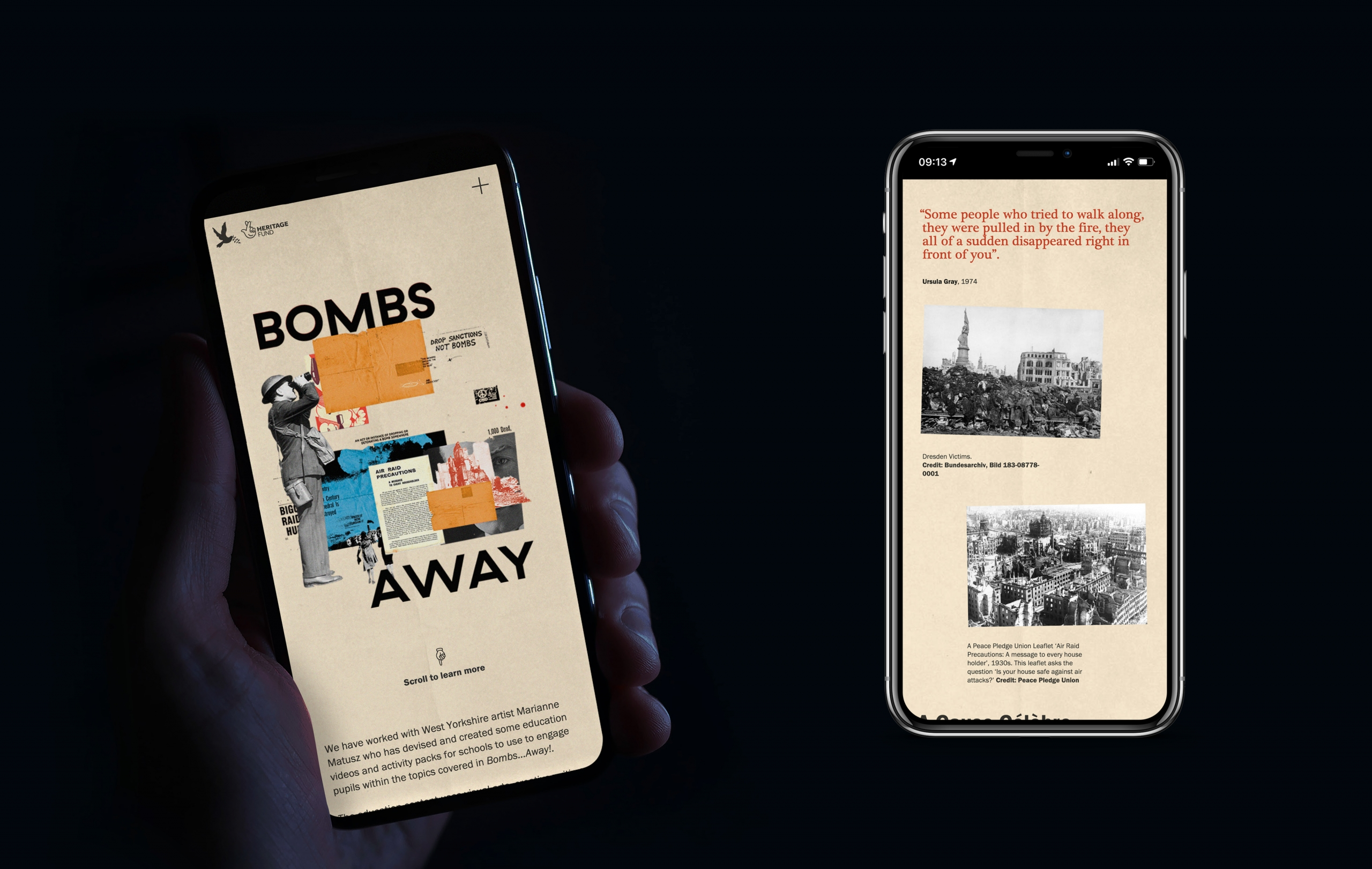 Responsive Mobile Design for Museums