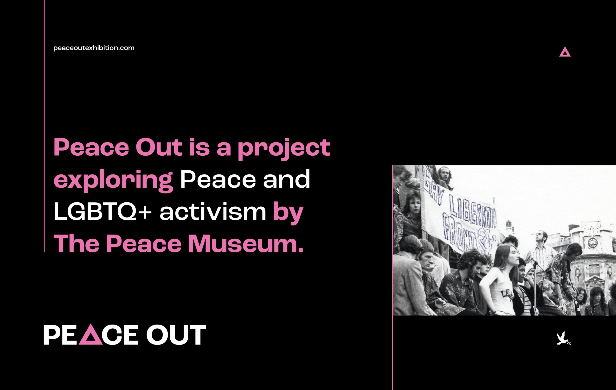 Peace Out - Digital Exhibition for the Peace Museum